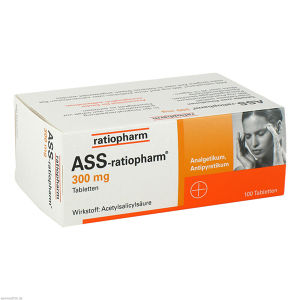 ASS-ratiopharm 300 mg